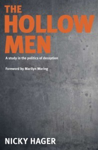 Book cover, The Hollow Men by Nicky Hager.